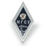 Именной нагрудный знак выпускника МГСУ (МИСИ)